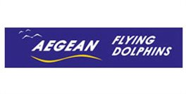 Logo Aegean Flying Dolphins