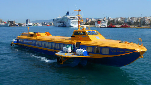 Ferry Atenas Egina Flying Dolphin