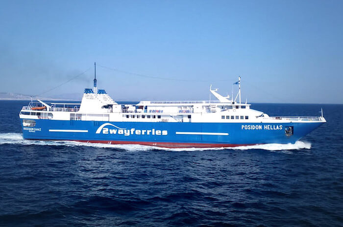 Ferry de Saronic Ferries