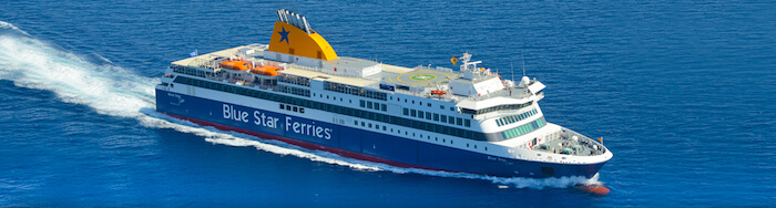Ferry de Blue Star Ferries
