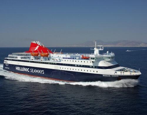 Ferry de Hellenic Seaways