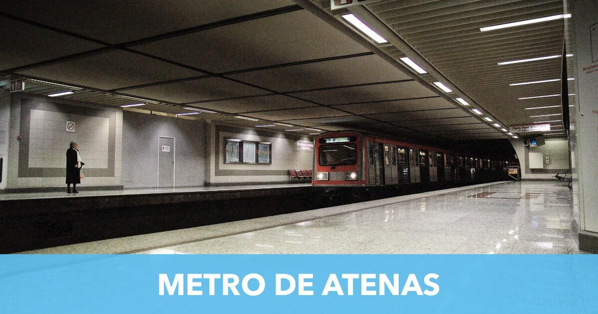 Metro de Atenas【2019】