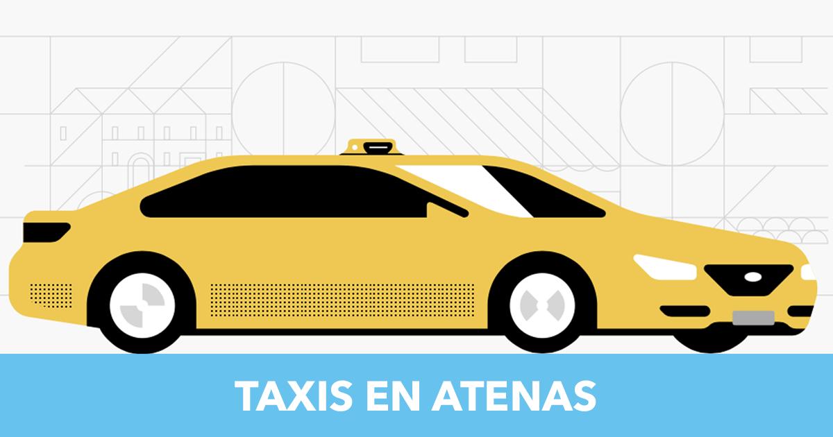 Taxis en Atenas【2018】