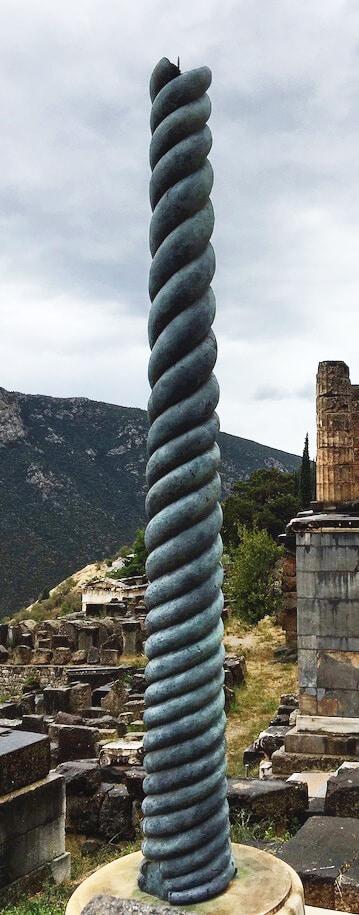 Columna de las serpientes Delfos