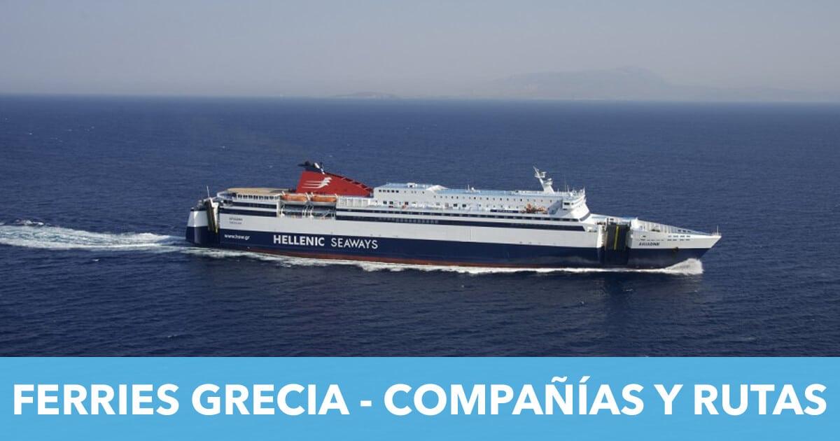 Ferries-Grecia