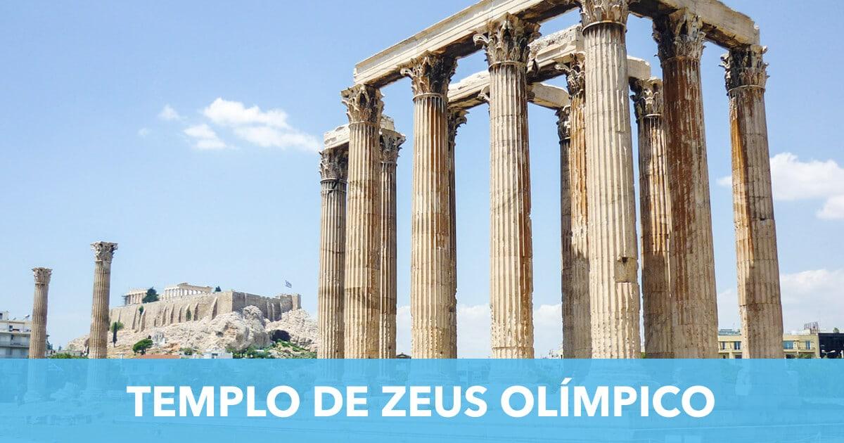 Templo de Zeus Olimpico Atenas