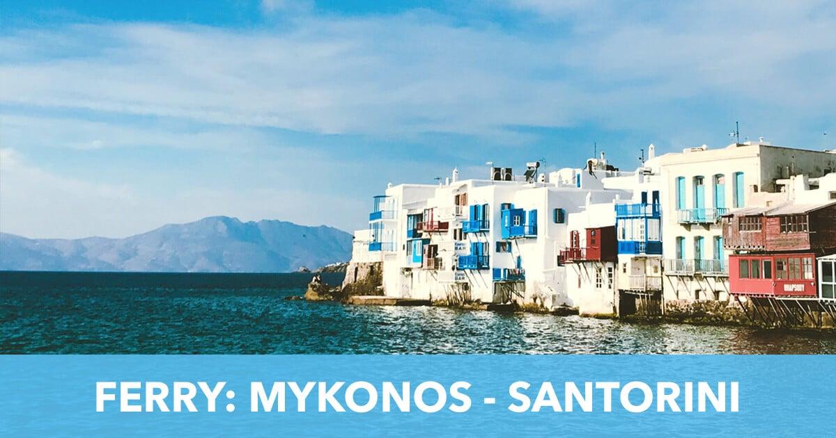 Ferry Mykonos Santorini