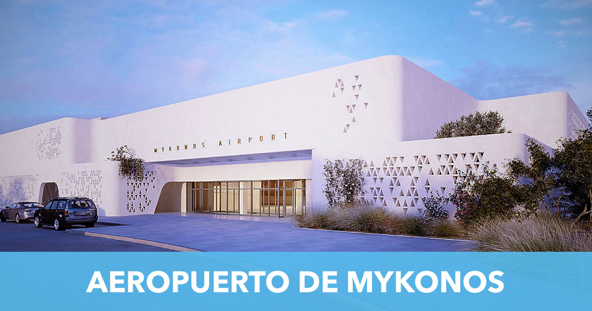 Aeropuerto de Mykonos Grecia