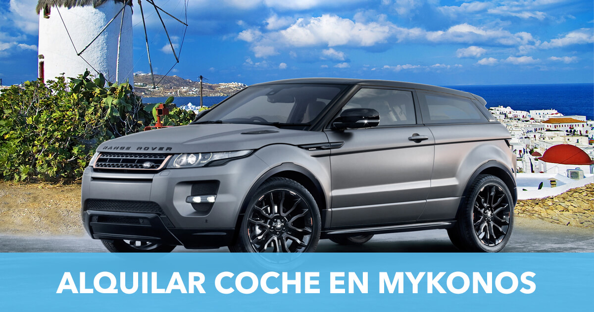 Alquilar coche Mykonos