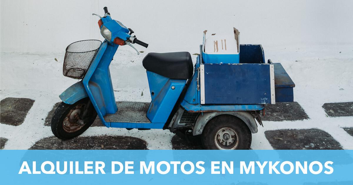 Alquiler Moto Mykonos