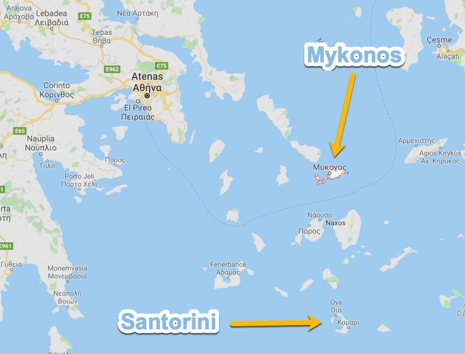 Donde esta Mykonos