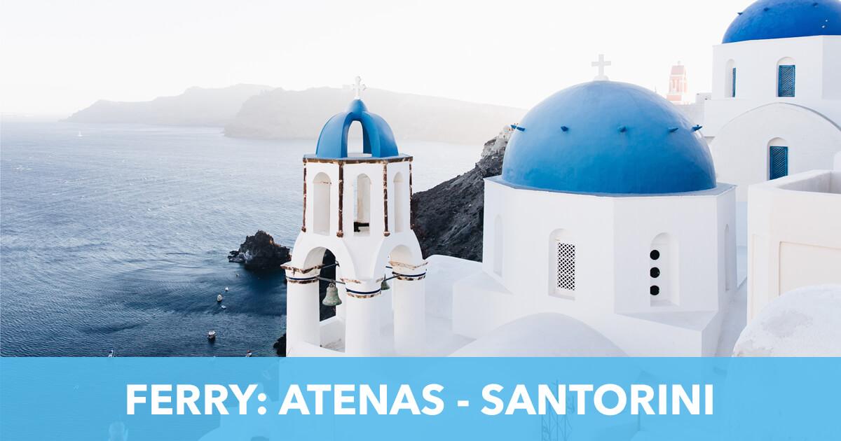 Ferry Atenas a Santorini