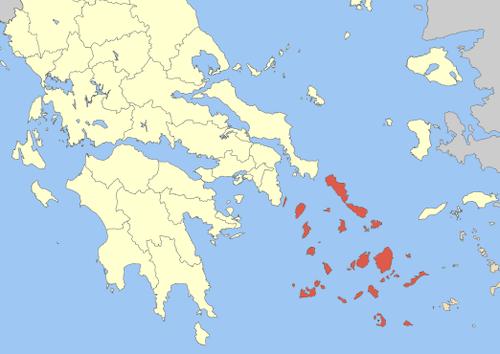 Islas Cicladas detalle