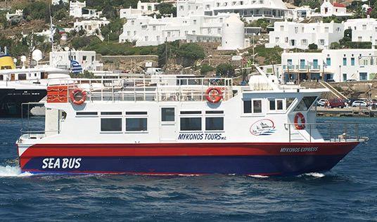 Taxi acuático Mykonos