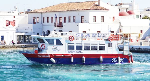 SeaBus de Mykonos expressblue