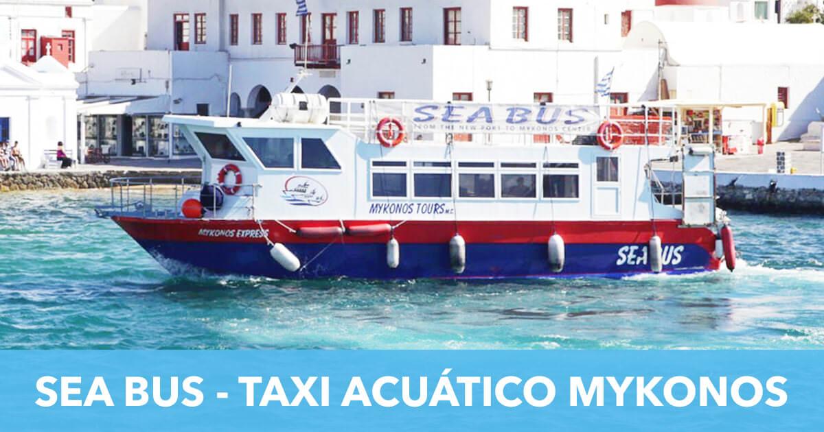SeaBusi Taxi Acuatico Mykonos