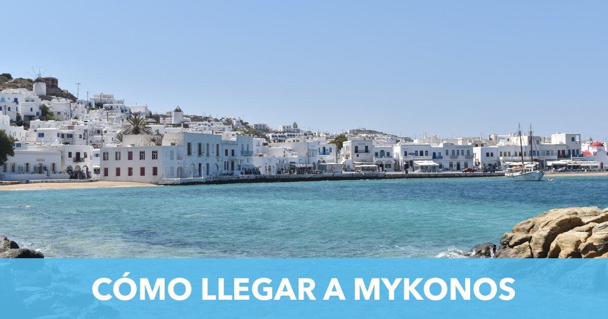 Como llegar a Mykonos