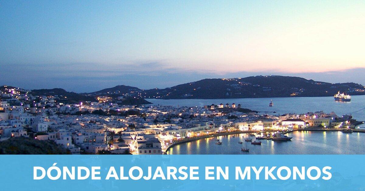 Donde Alojarse Mykonos