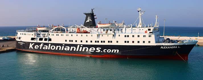 Ferry Alexandra L de Kefalonian Lines