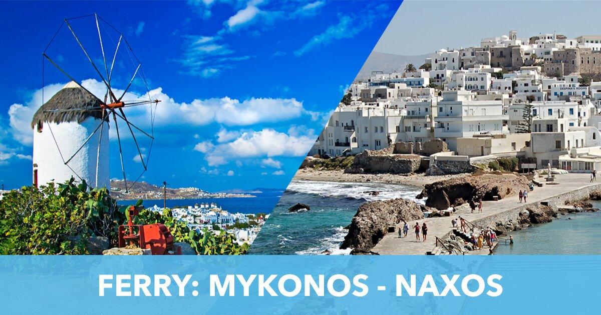Ferry Mykonos Naxos