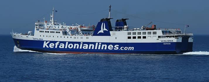 Ferry Nissos Kefalonia de Kefalonian Lines
