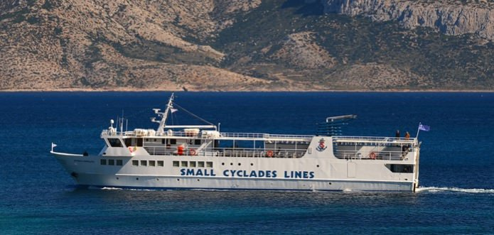 Ferry Small Cyclades Lines