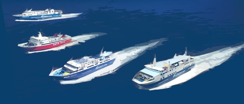 Flota Saronic Ferries