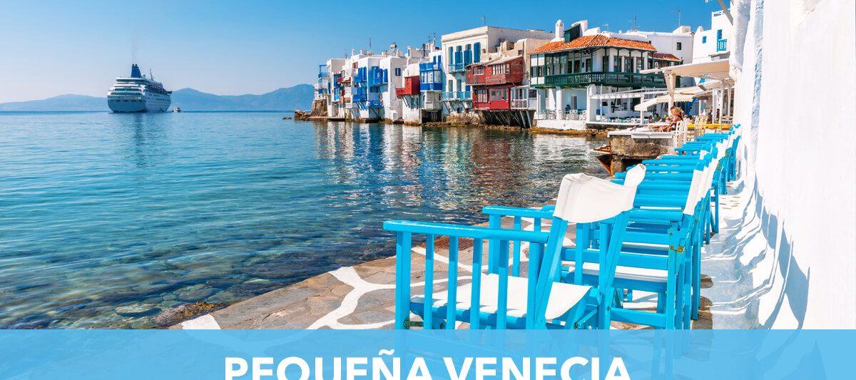 Pequeña Venecia de Mykonos