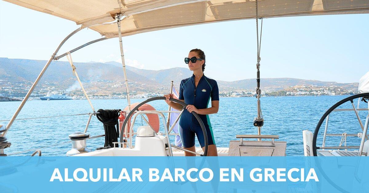 Alquiler de barco en Grecia